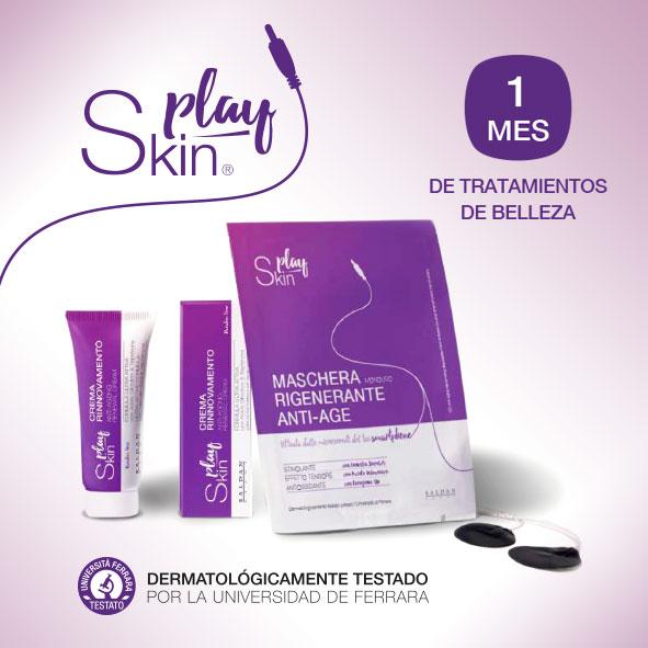 Play Skin, la máscara de belleza inteligente más revolucionaria del mercado cosmético