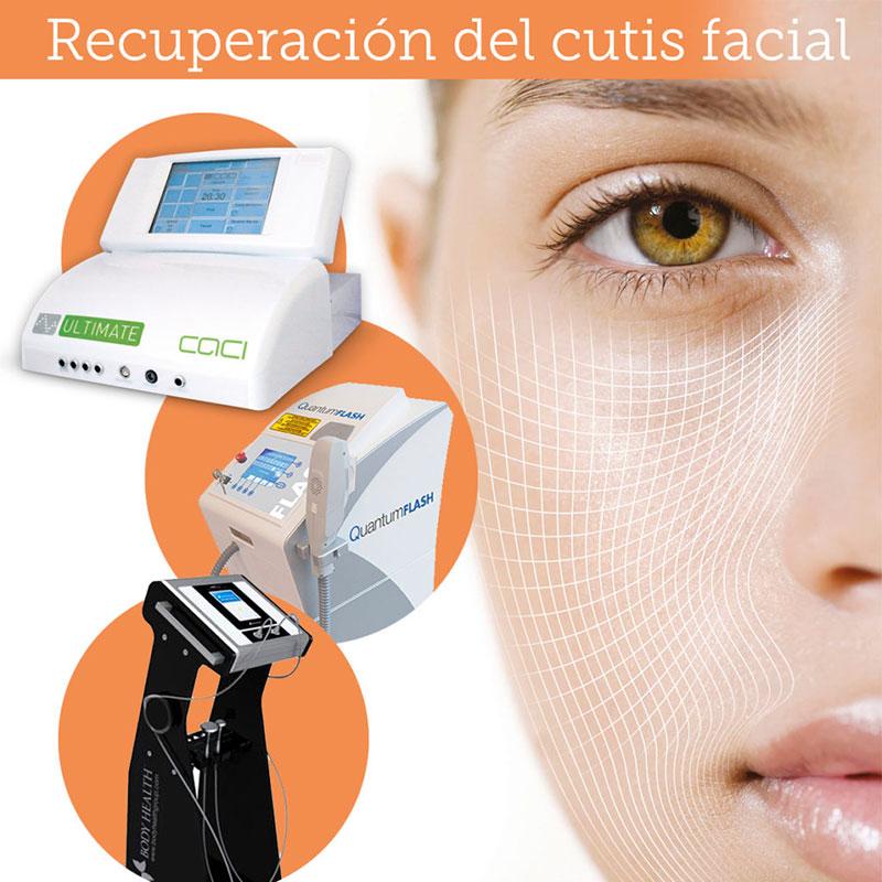 Recuperación del cutis facial después del verano